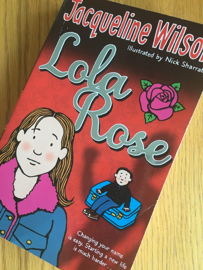 Lola Rose, Lola Rose by Jacqueline Wilson, Jacqueline Wilson, Book review