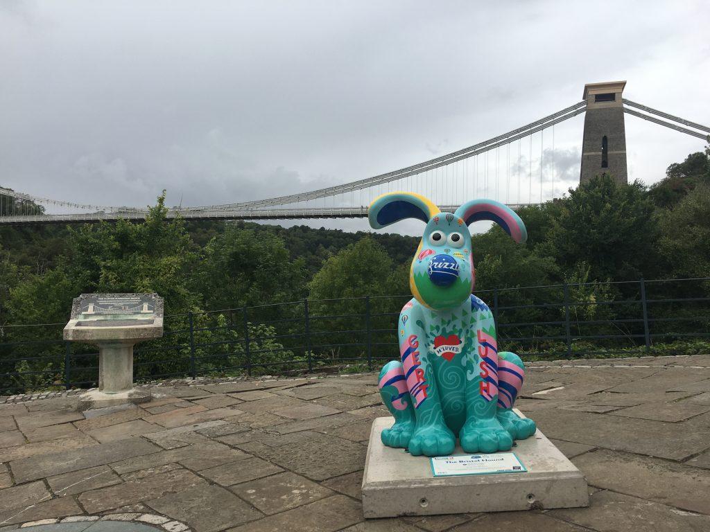 Gromit, Gromit Unleashed 2, Clifton Suspension Bridge, Bristol, Silent Sunday, My Sunday Photo
