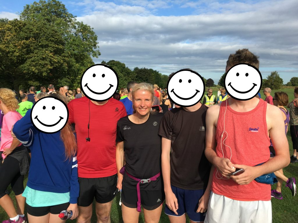 parkrun, family, 365, runners