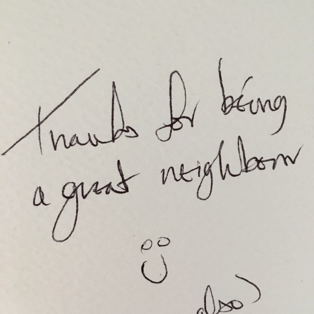Thank you, Card, Neighbour, 365