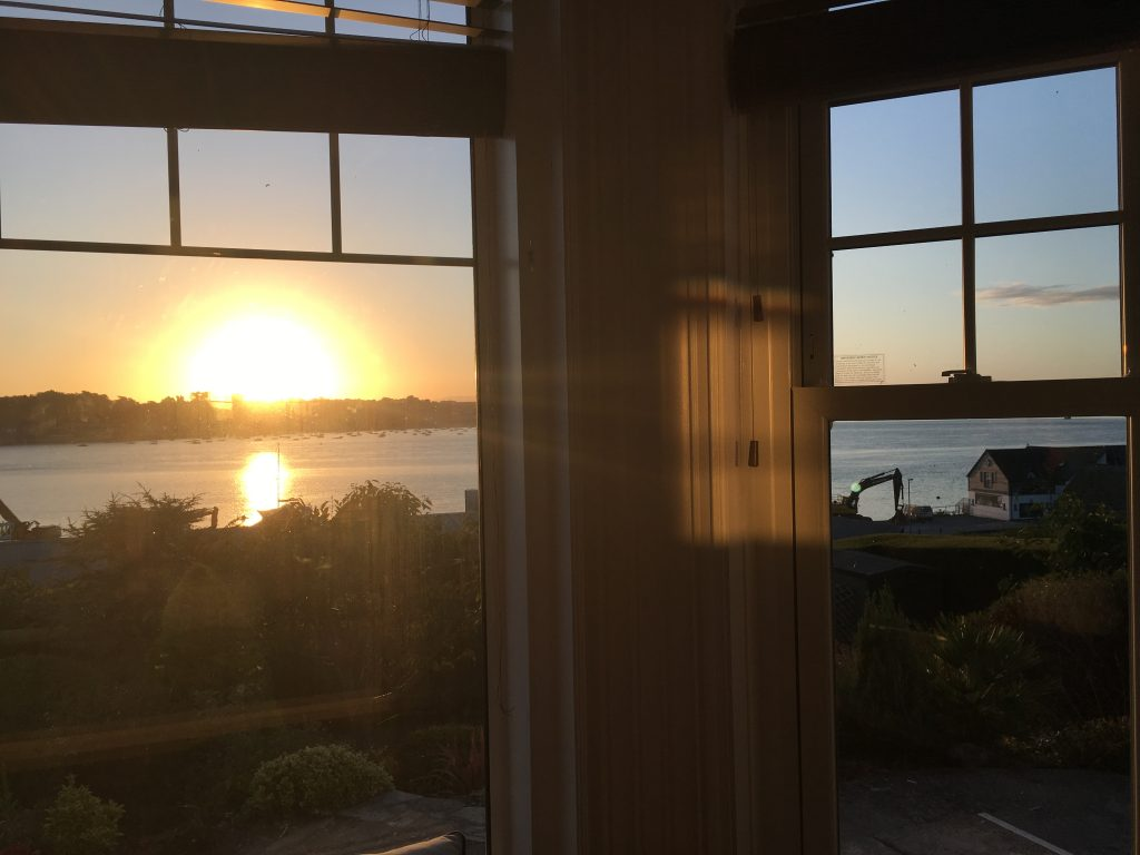 Padstow, Camel Estuary, Sunrise, Exbury House, Cornwall, Holiday house