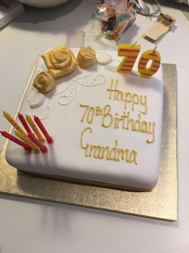 Birthday cake, 70th birthday, Birthday, 365