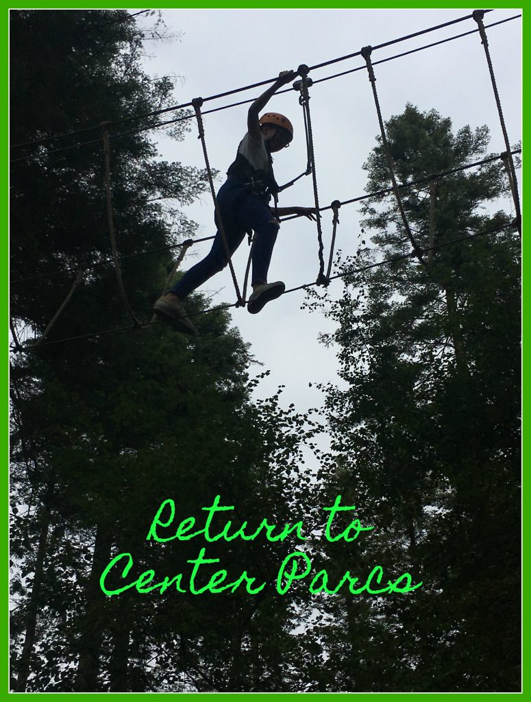 Center Parcs, Holiday, Family holiday, Return to Center Parcs