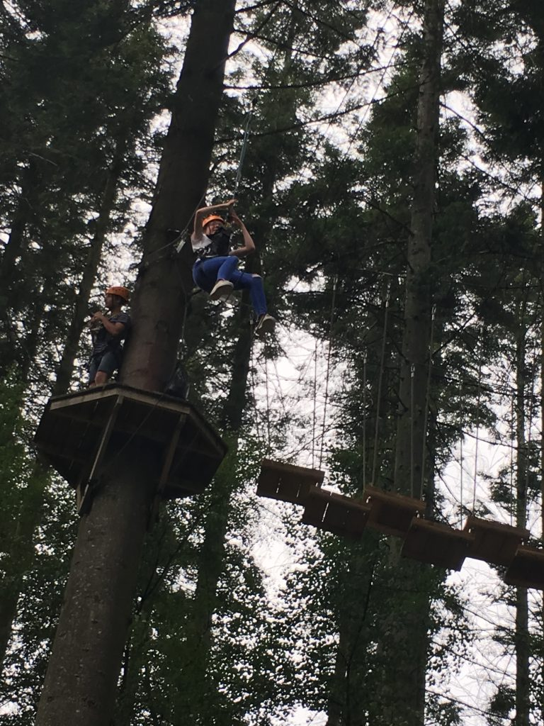 Aerial Adventure, Daughter, Center Parcs, Holiday, 365