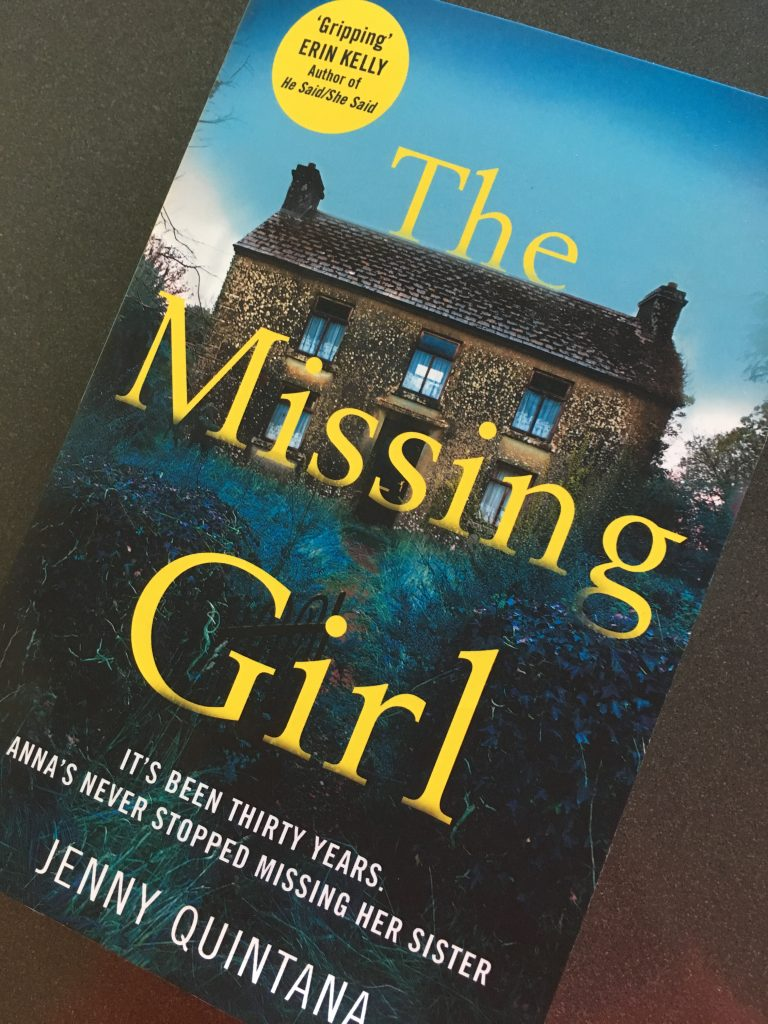The Missing Girl, The Missing Girl by Jenny Quintana, Book review, Jenny Quintana, The Missing Girl review