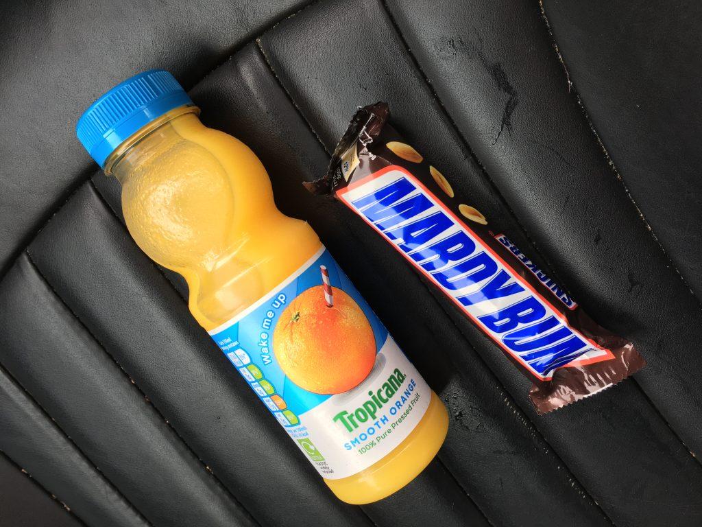 Chocolate, Orange juice, Running recovery, 365