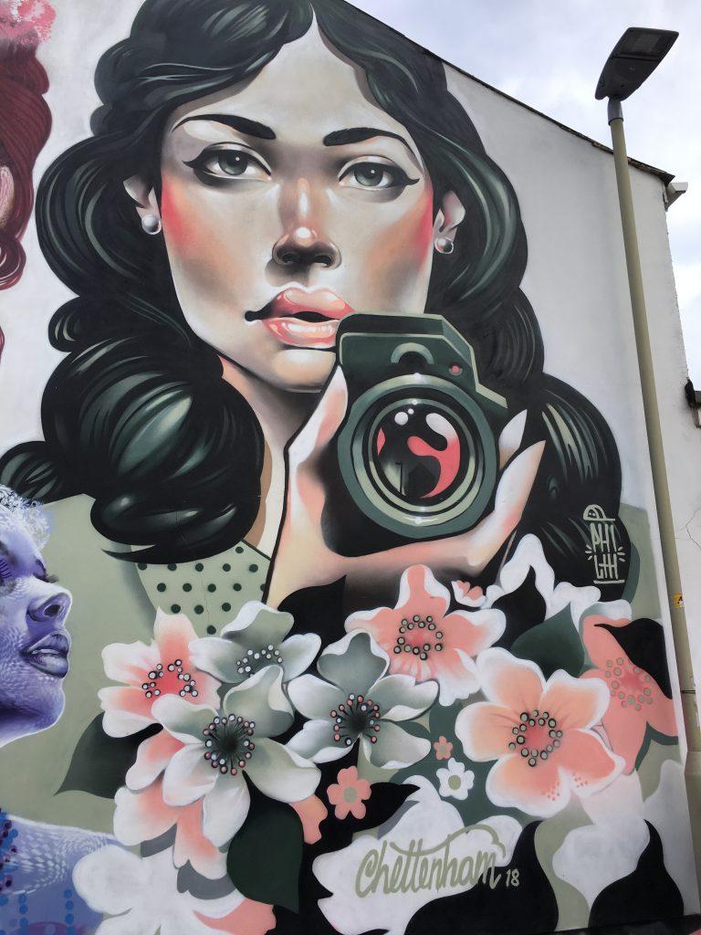 Street art, Cheltenham Paint Festival, Cheltenham, 365