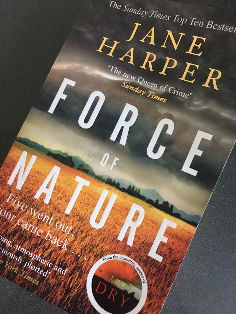 Force of Nature, Force of Nature by Jane Harper, Jane Harper, Book review