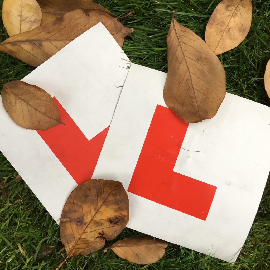 L plates, Learner driver, Young driver, New driver, Teenager, Insurance for learner drivers