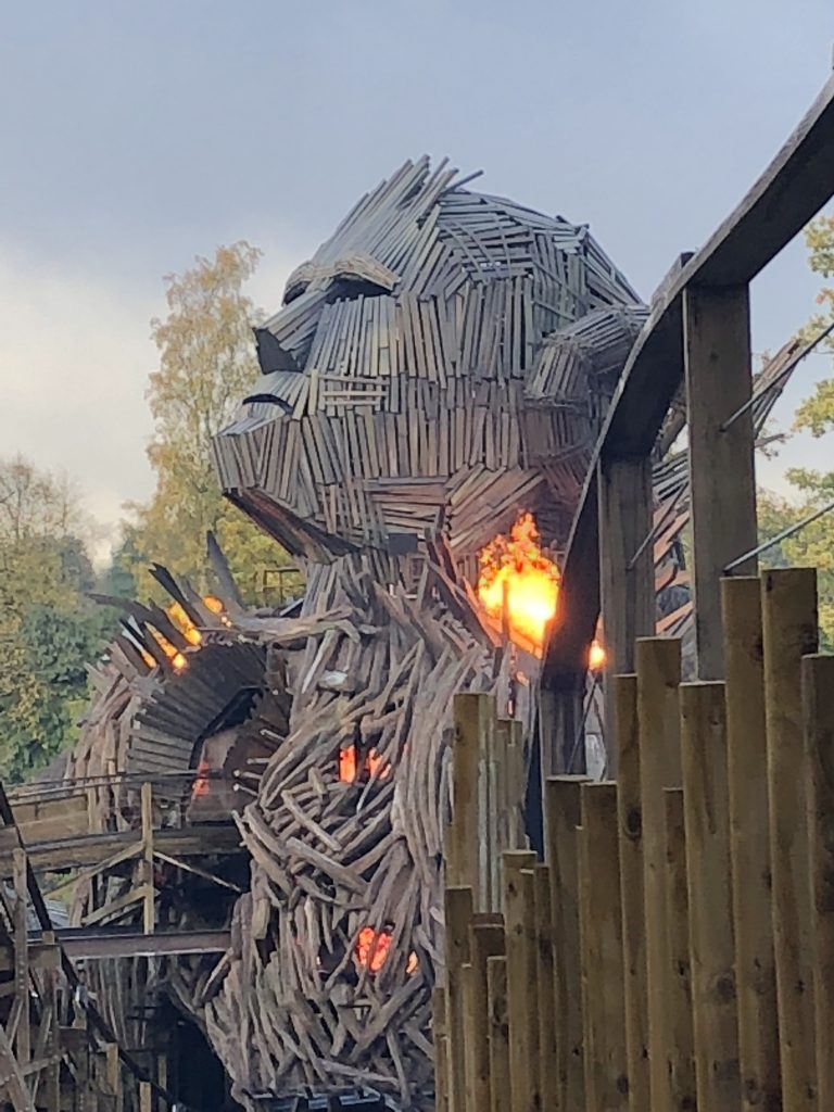 Wicker Man, Alton Towers, An underwhelming half term, 365