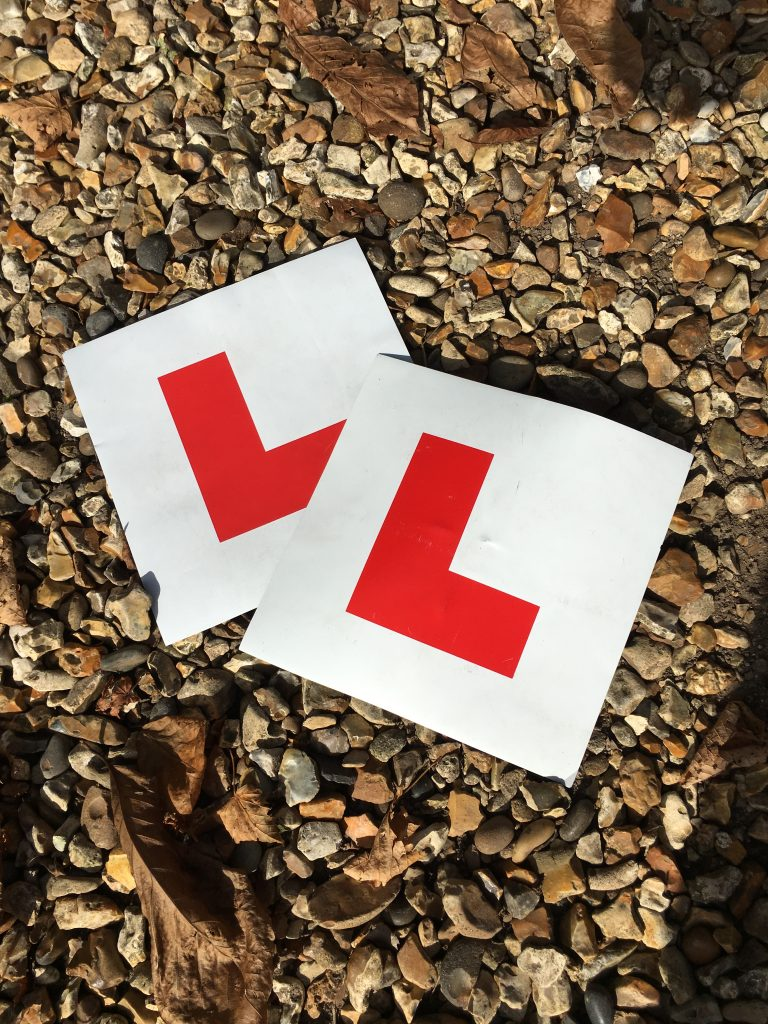 L plates, Learner driver, Driving test, 365, My son the driving test and the very good week