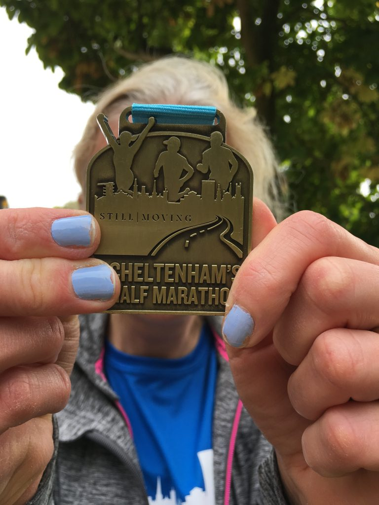 Cheltenham half marathon, Medal, Silent Sunday, My Sunday Photo, Two half marathons in a month tapering to recovery and back