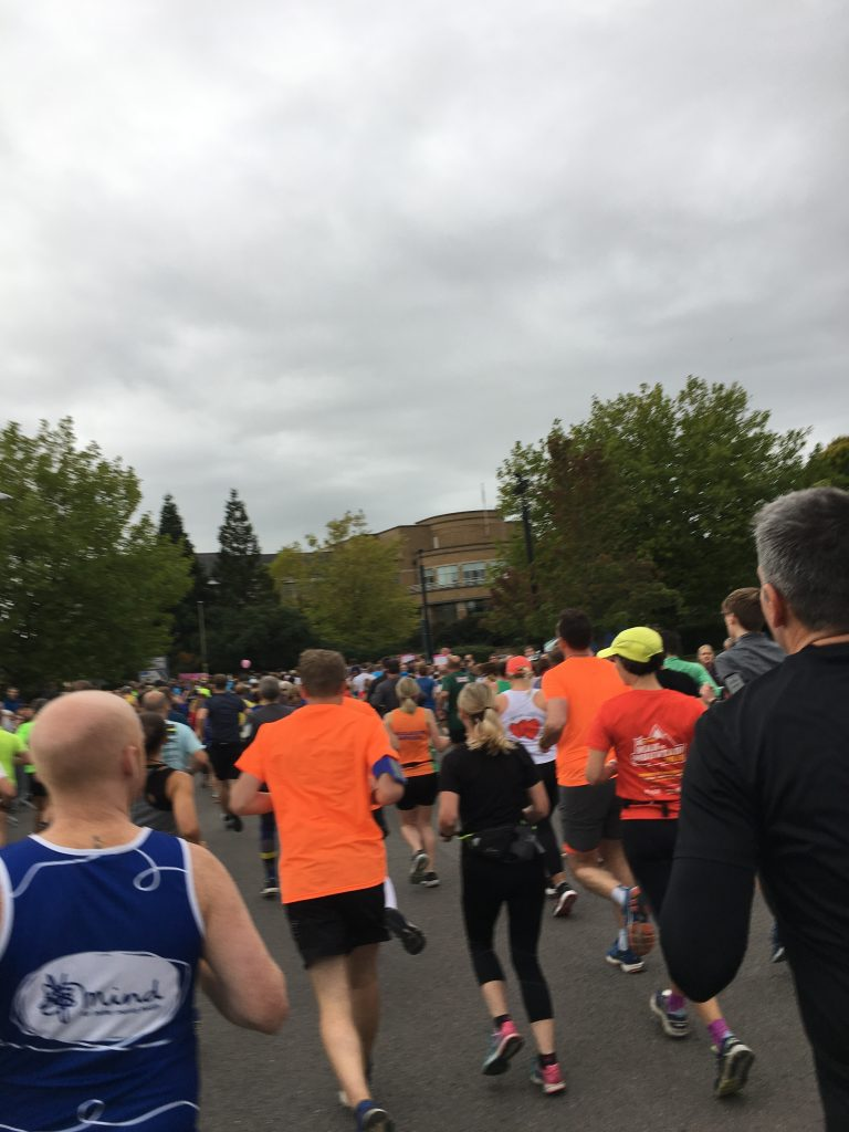 Runners, Cheltenham half marathon 2018, Half marathon