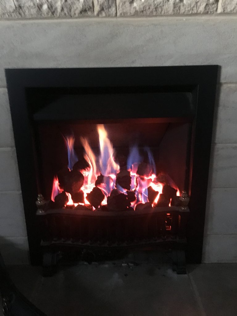 Gas fire, Heating, Central heating, 365