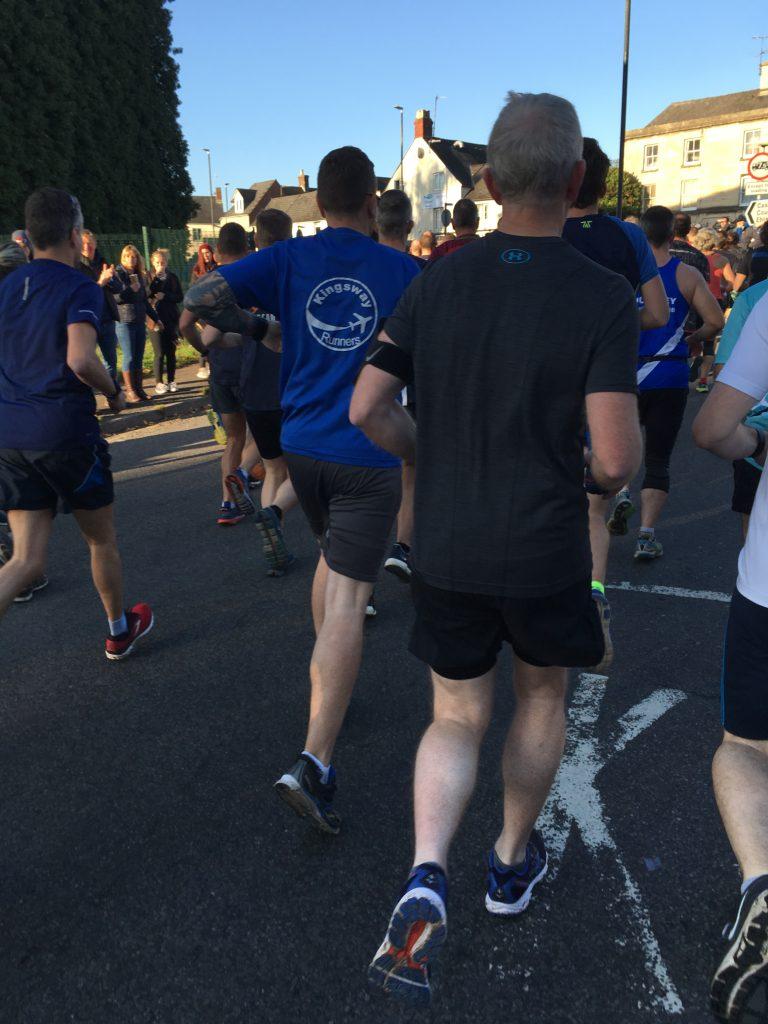 Stroud half marathon 2018, runners, running