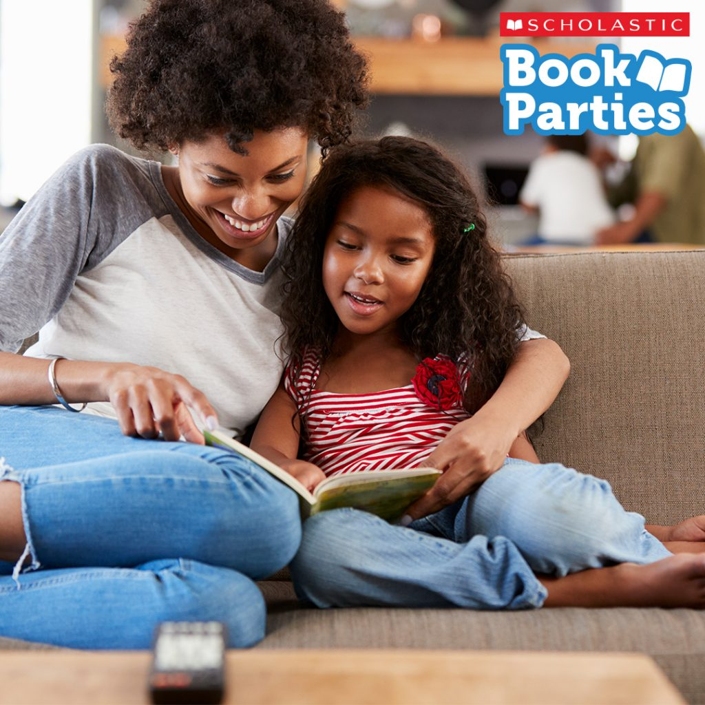 Reading, Books, Children, Scholastic Book Parties, Give the gift of reading for kids