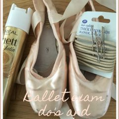 Ballet exam do's and don'ts