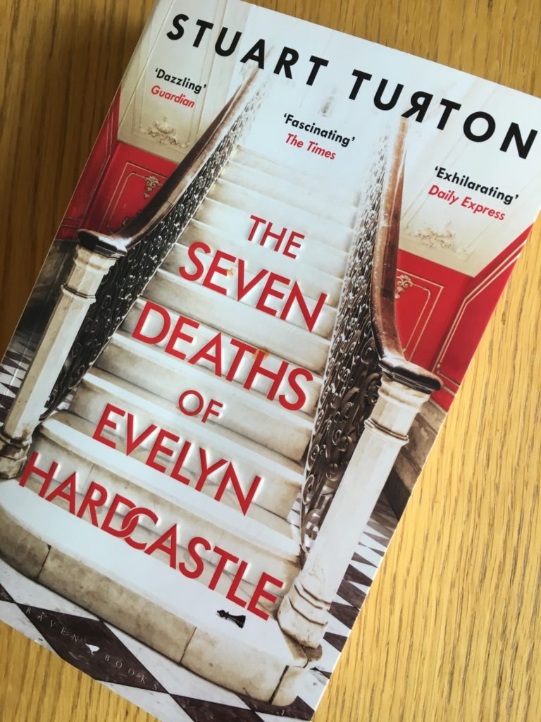 The Seven Deaths of Evelyn Hardcastle, The Seven Deaths of Evelyn Hardcastle review, Stuart Turton, Book review