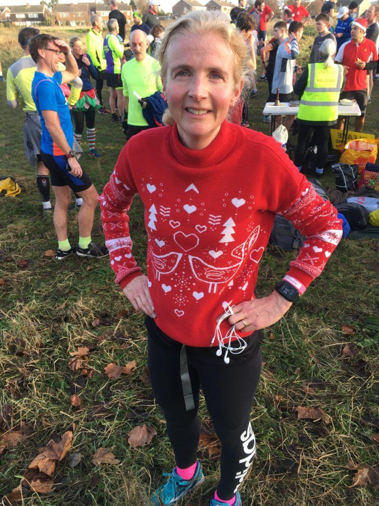 parkrun, Christmas jumper, running, 365