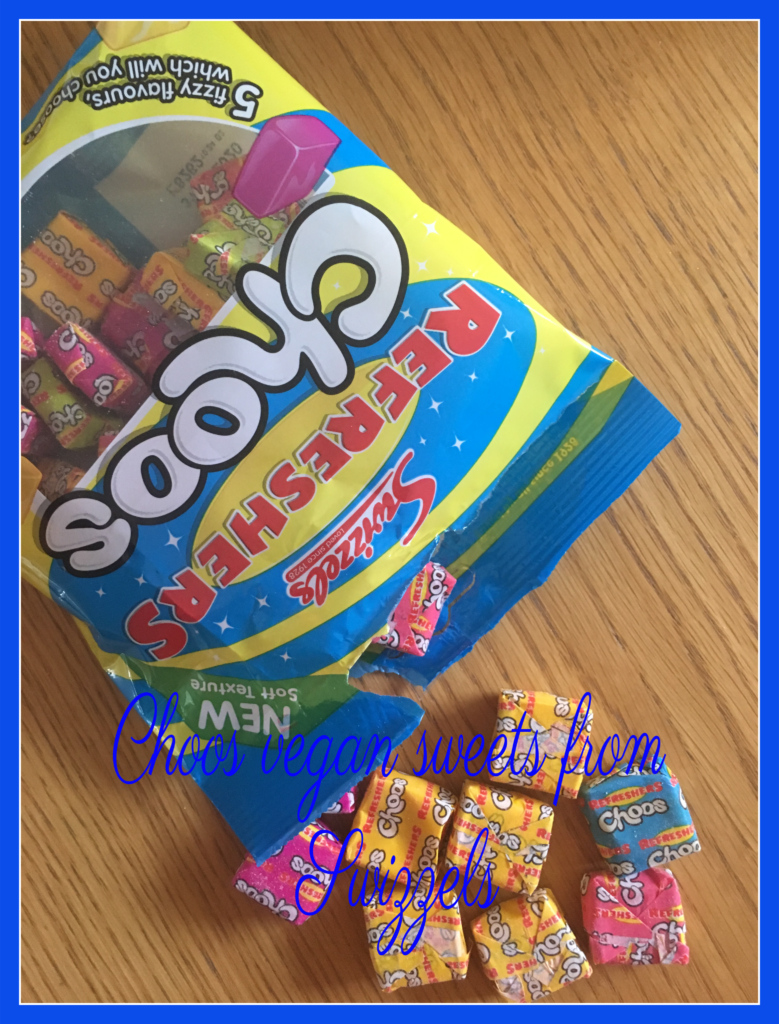 Choos, Choos vegan sweets, Choos review, Vegan sweets, Vegetarian sweets, Swizzels