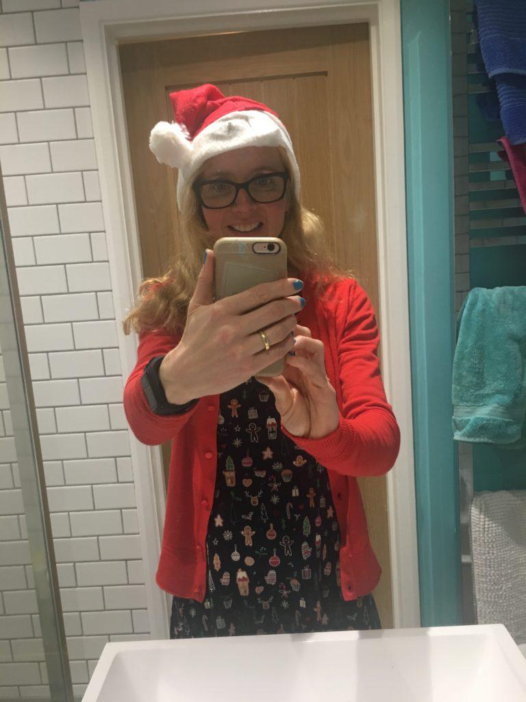 Christmas party, Santa hat, Selfie, 365