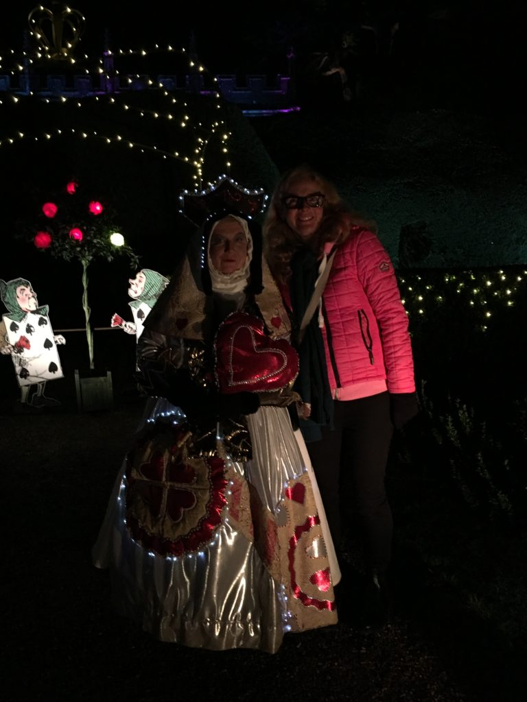 Queen of Hearts, Sudeley Castle, Spectacle of Light, 365, Alice in Wonderland