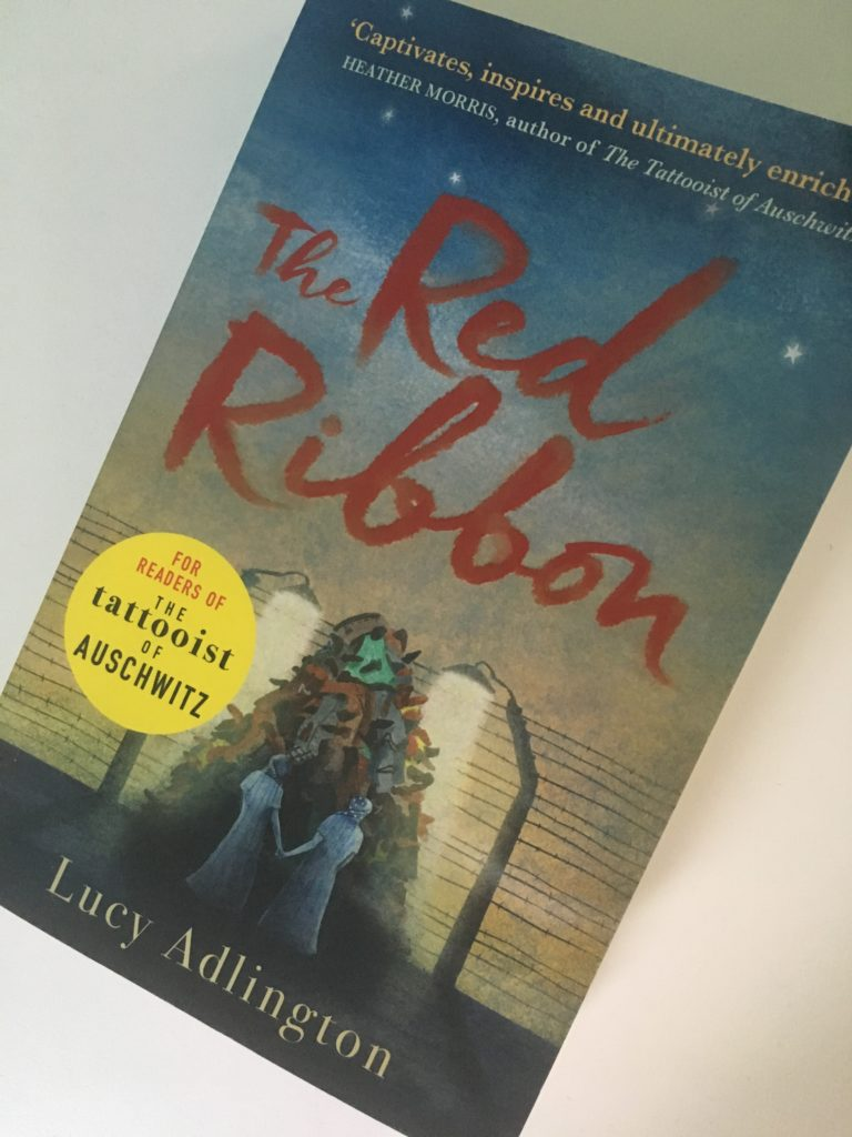 The Red Ribbon by Lucy Adlington, The Red Ribbon, My daughter and the scary book