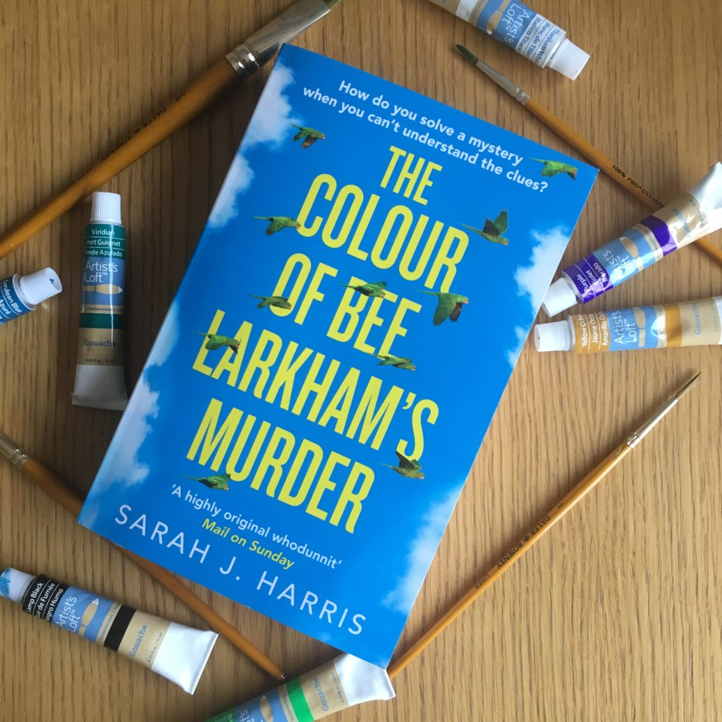 The Colour of Bee Larkham's Murder, Book, Reading, 365