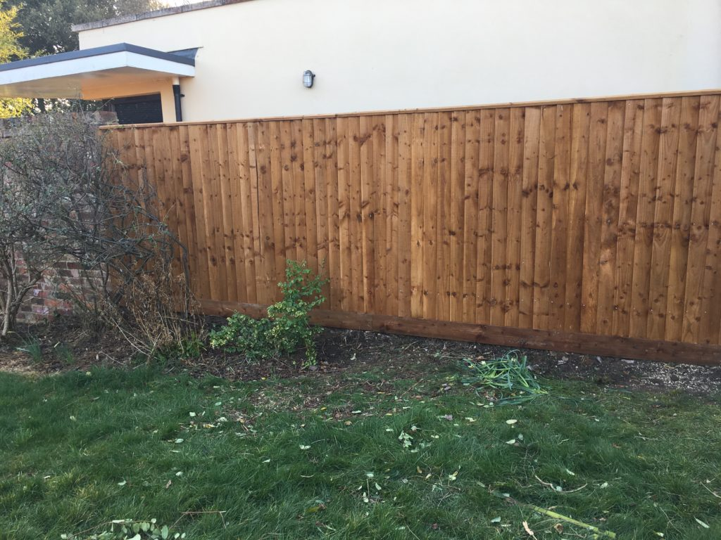 Fence, New fence, Garden, 365