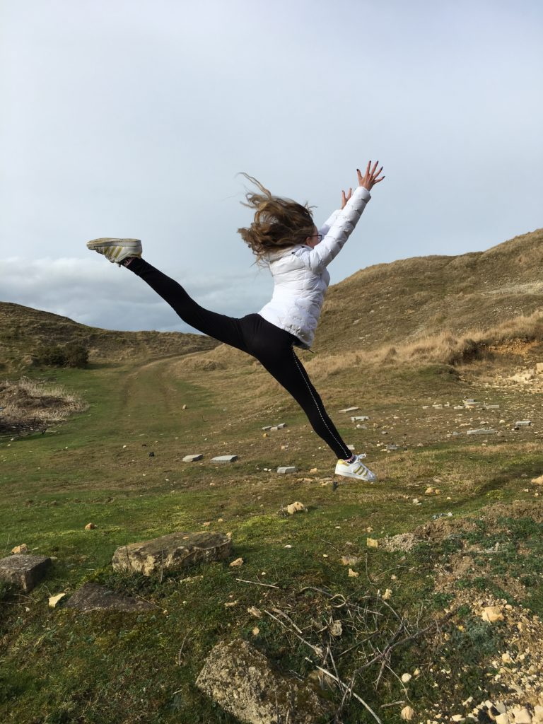 Daughter, Dancer, Countryside, Sunday Snap, Silent Sunday