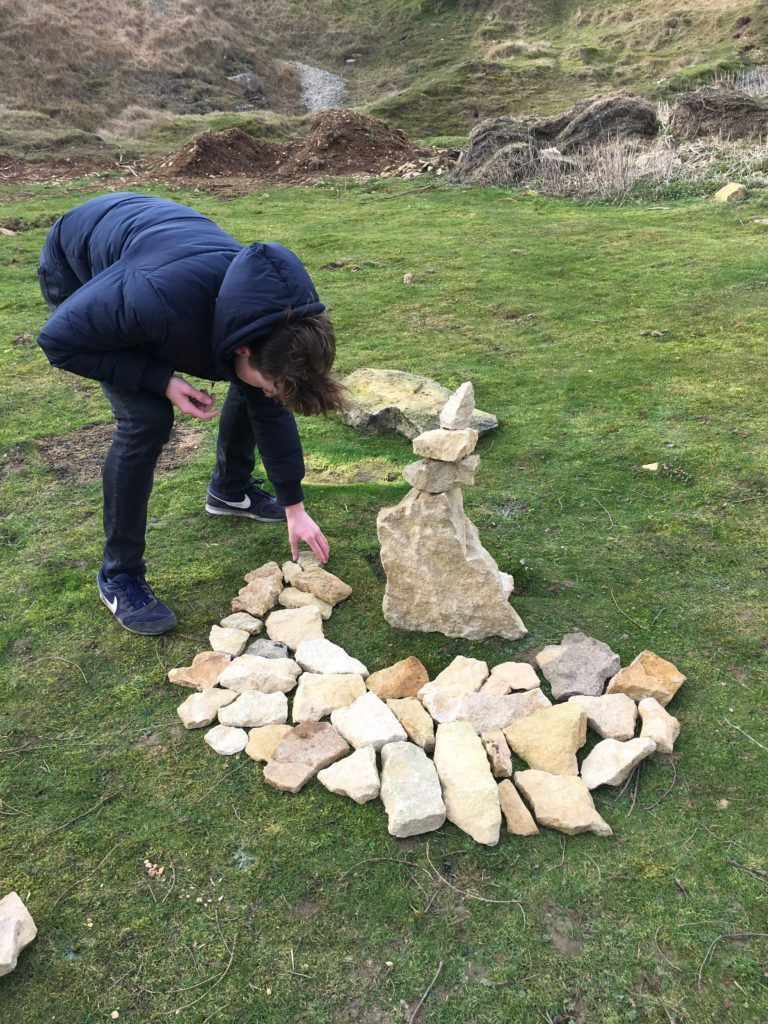Son, Art project, Land art, GCSE art