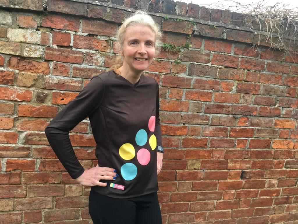 Contra, Contra sportswear, Why I wear a Contra running top, Running, Marathon training
