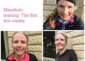 Marathon training: The first few weeks