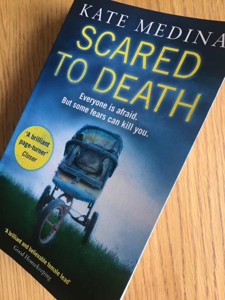 Scared to Death, Scared to Death by Kate Medina, Book review, Dr Jessie Flynn, Kate Medina