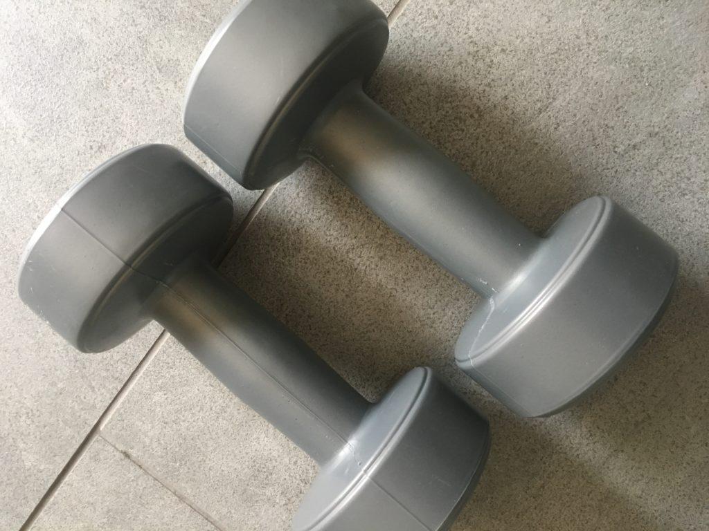 Dumbells, Weights, Body conditioning, Marathon training, 365