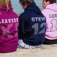 The leavers' hoodie tradition