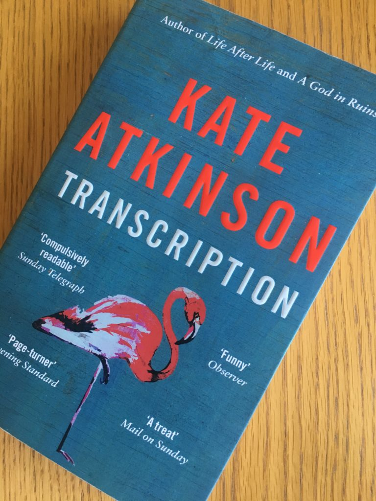 Transcription, Transcription by Kate Atkinson, Kate Atkinson, Book review