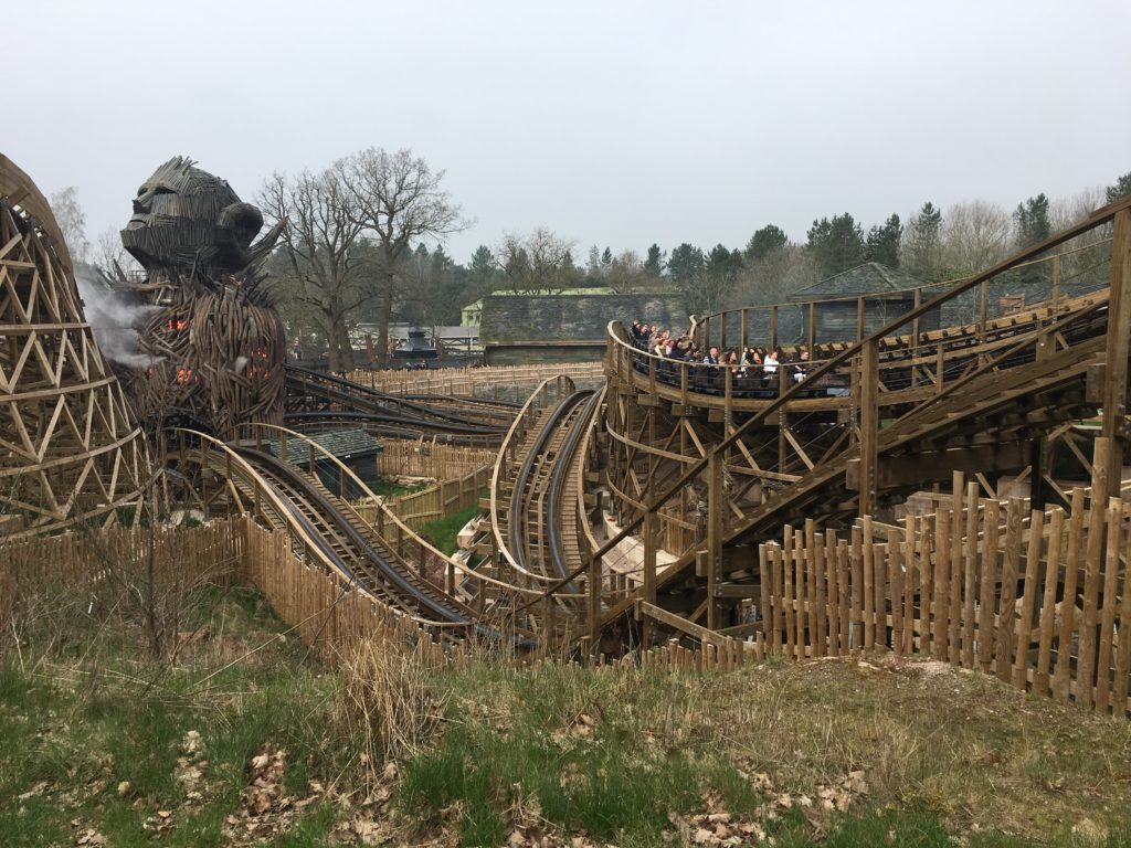 Wicker Man, Alton Towers, Rollercoaster, Daughter, 365