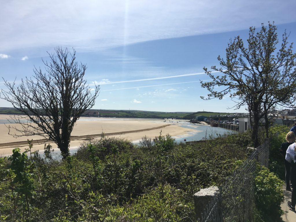Camel Estuary, Padstow, Cornwall, Holiday, A flying visit to Padstow