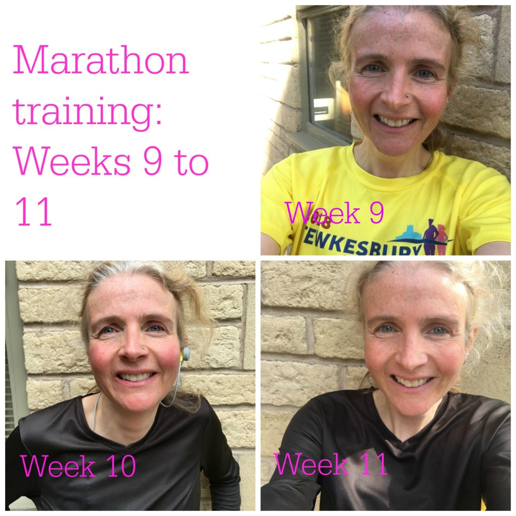 Marathon training, Running, Runner, Selfies, Marathon training weeks 9 to 11