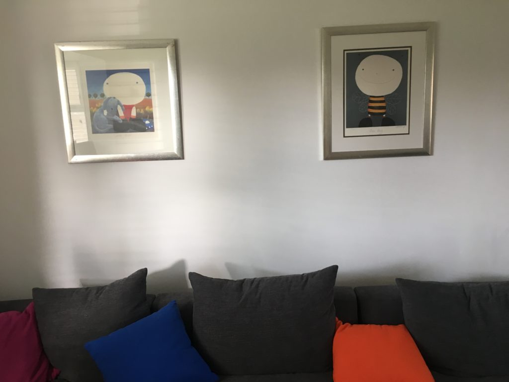 Pictures, Bee Boy, With Child, Mackenzie Thorpe, Lounge, The new lounge