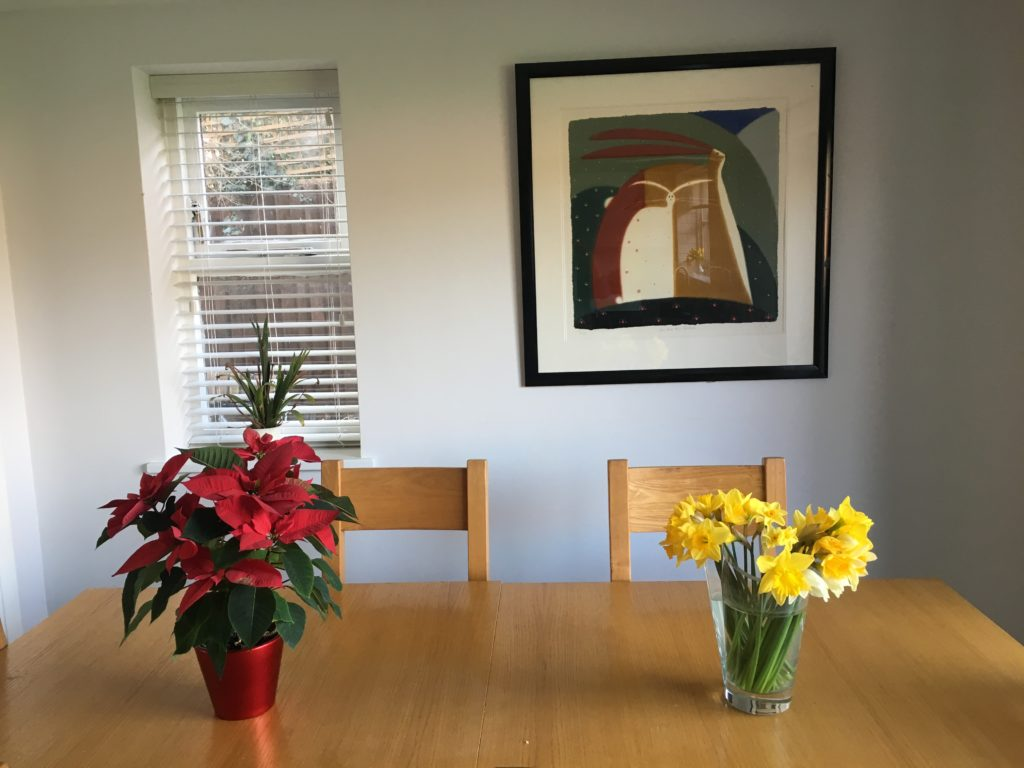 Rabbit picture, The new lounge, Lounge, Dining room