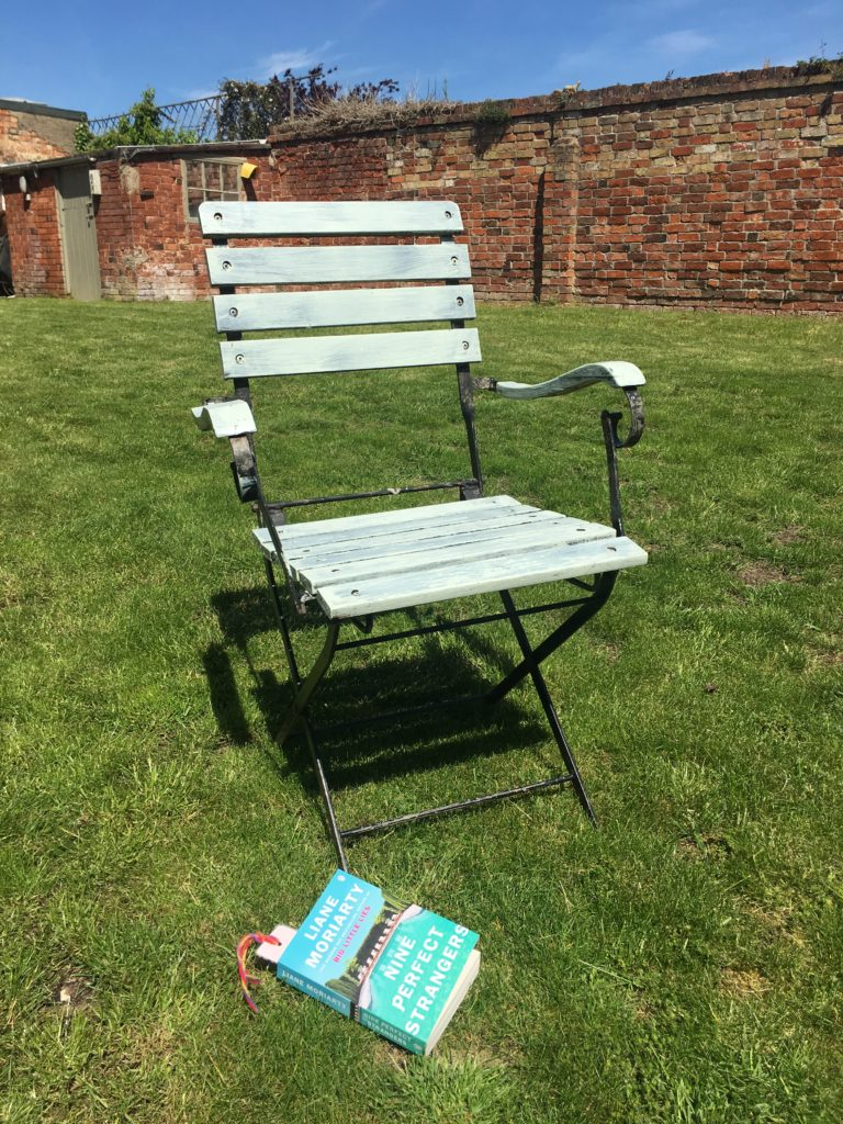 Garden, chair, book, 365