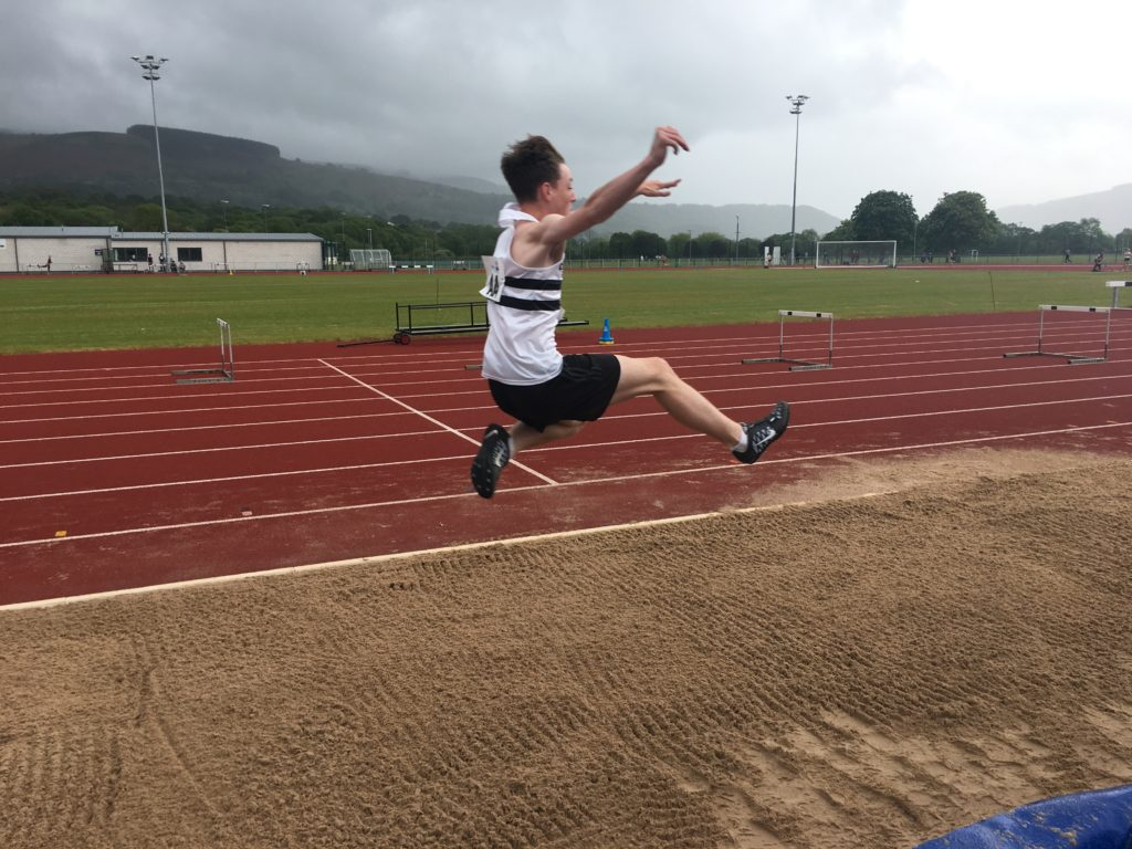 Long jump, Son, Athletics, Athlete, 365, The new athletics season and a new PB