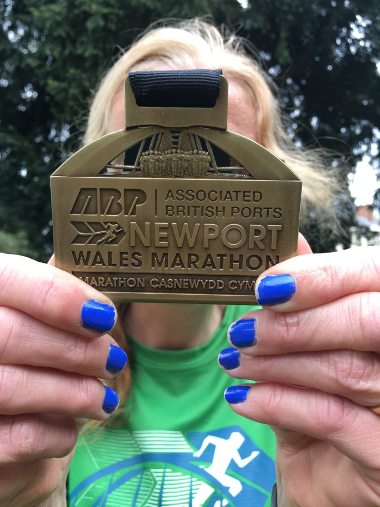 Medal, Newport marathon, Sunday Snap, Silent Sunday
