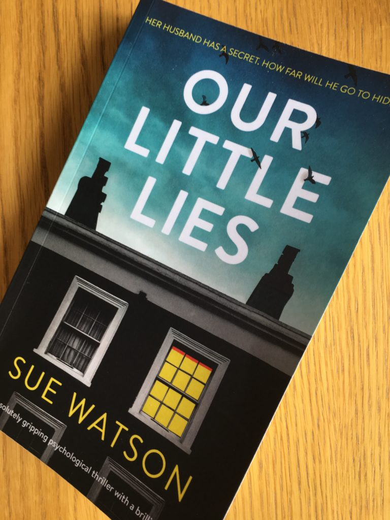 Our Little Lies, Book review, Our Little Lies by Sue Watson