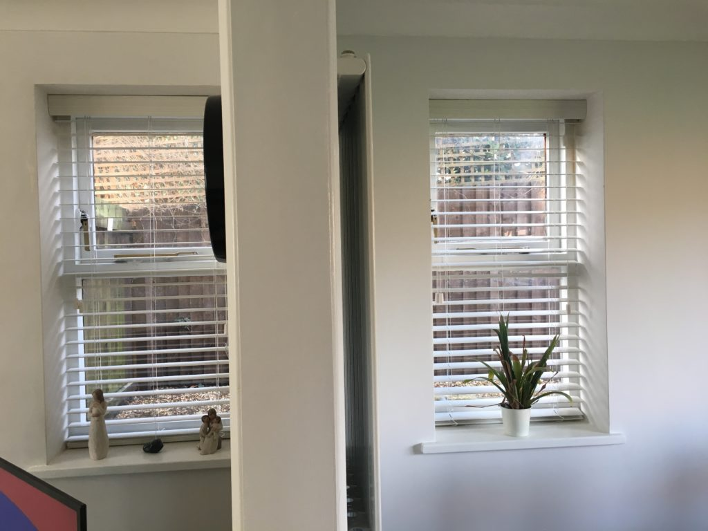Windows, Blinds, Lounge, The new lounge
