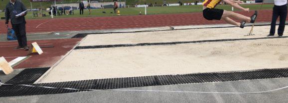 English Schools athletics and the long shot