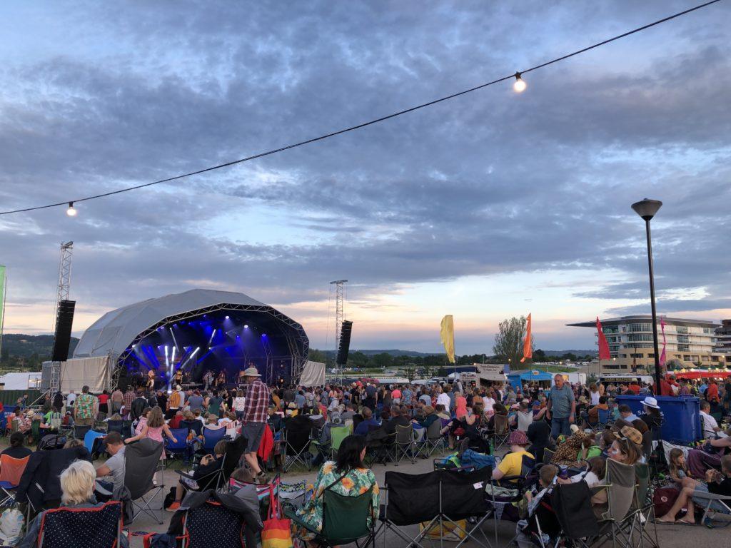 Wychwood Festival, Cheltenham, Gloucestershire, Sunset, 365