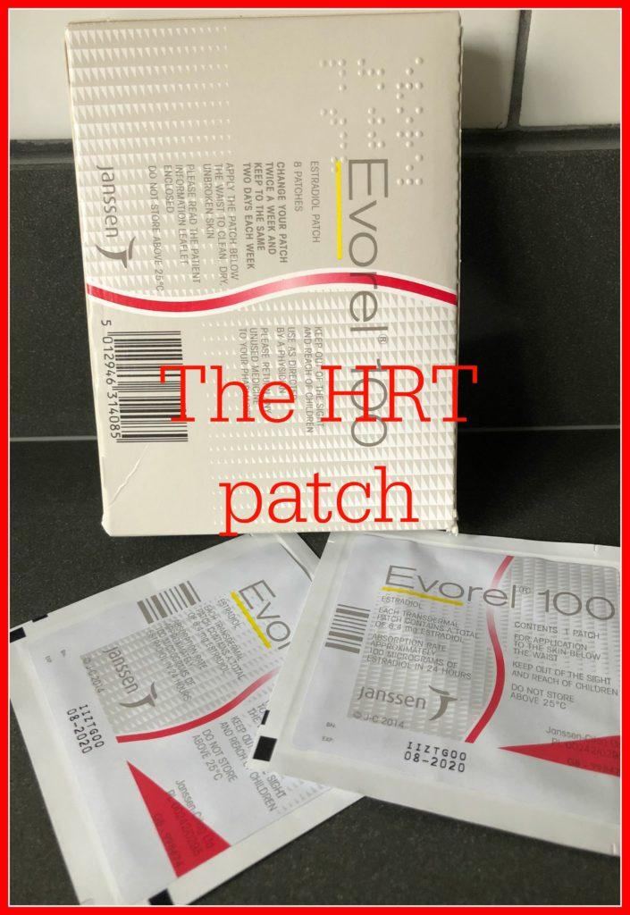 The HRT patch, HRT, Menopause